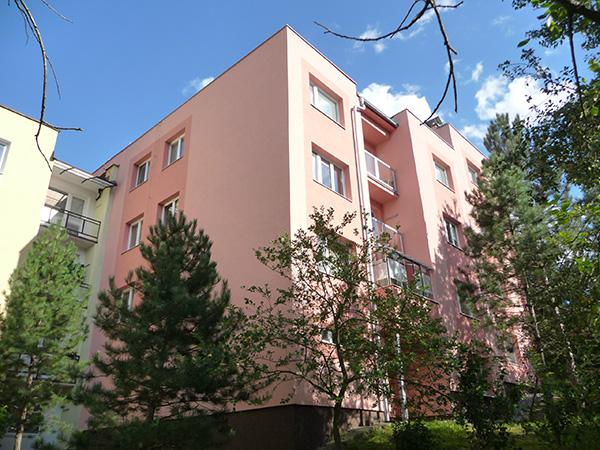 Zateplenie bytového domu – Mateja Bela 8, Banská Bystrica