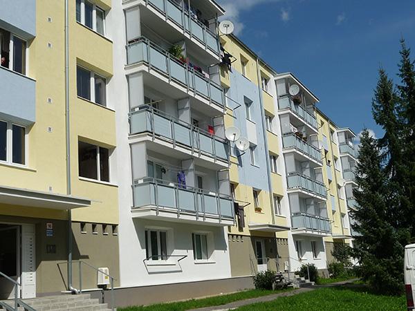 Zateplenie bytového domu – Mládežnícka 12-20, Banská Bystrica