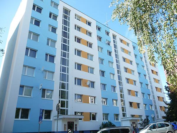 Zateplenie bytového domu – Sitnianska 19-23, Banská Bystrica