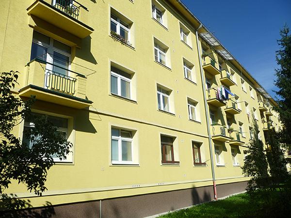 Zateplenie bytového domu – Trieda SNP 47-51, Banská Bystrica